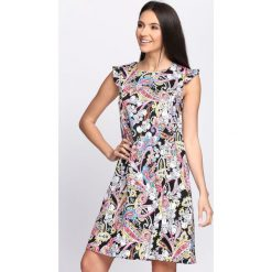 Sukienki: Czarno-Biała Sukienka All I Need