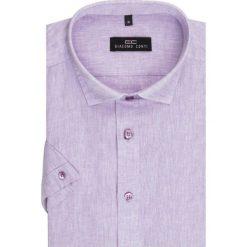 Koszula SIMONE KLFR500010. Brązowe koszule męskie na spinki marki QUECHUA, m, z elastanu, z krótkim rękawem. Za 149,00 zł.