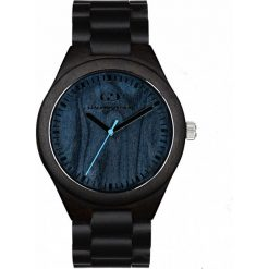 Zegarek Giacomo Design Drewniany męski GD08304. Czarne zegarki męskie Giacomo Design. Za 415,00 zł.
