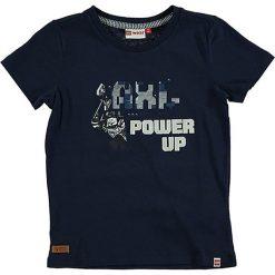 """T-shirty chłopięce: Koszulka """"Teo"""" w kolorze granatowym"""