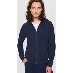 Rozpinana bluza z kapturem - Granatowy. Szare bluzy męskie rozpinane marki TARMAK, m, z bawełny, z kapturem. Za 139,99 zł.