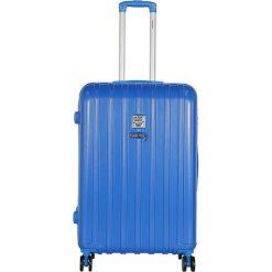 Walizki: Walizka w kolorze niebieskim – 107 l