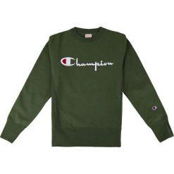 Bejsbolówki męskie: CHAMPION Bluza męska Crewneck Sweatshirt Green r. XL (212576/GS536)