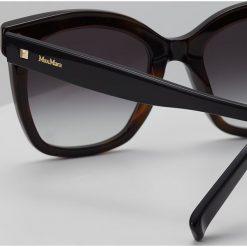 Max Mara DOTS II Okulary przeciwsłoneczne black/havanna. Czarne okulary przeciwsłoneczne damskie aviatory Max Mara. Za 799,00 zł.