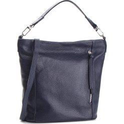 Torebka CREOLE - K10561 Granat. Niebieskie torebki klasyczne damskie Creole, ze skóry, duże, bez dodatków. W wyprzedaży za 229,00 zł.