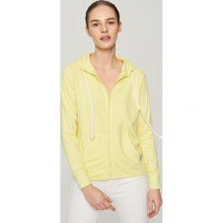Bluza z kapturem - Żółty - 2