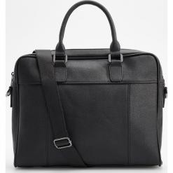 Torba na ramię - Czarny. Czarne torby na ramię męskie Reserved, na ramię. Za 199,99 zł.