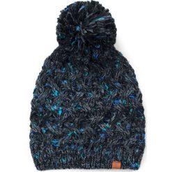 Czapka damska Kolorowy melanż grafitowa. Szare czapki zimowe damskie marki Art of Polo, w kolorowe wzory. Za 47,34 zł.