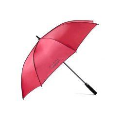 Parasol do golfa 500 UV różowy. Czerwone parasole marki Senz. Za 59,99 zł.