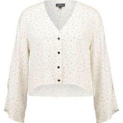 Bluzki asymetryczne: Topshop Petite HOLLY  Bluzka cream