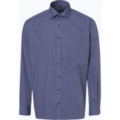 Eterna Comfort Fit - Koszula męska – niewymagająca prasowania, niebieski. Niebieskie koszule męskie na spinki Eterna Comfort Fit, m, z bawełny, z klasycznym kołnierzykiem. Za 149,95 zł.