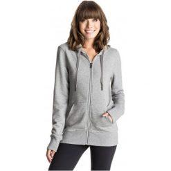 Roxy Bluza Throw Down Hood J Heritage Heather S. Brązowe bluzy sportowe damskie Roxy, s, z kapturem. W wyprzedaży za 169,00 zł.
