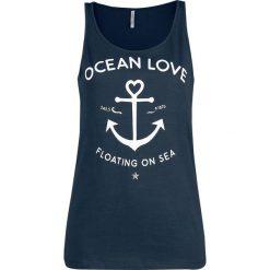 Topy damskie: Urban Surface Ocean Love Top damski granatowy