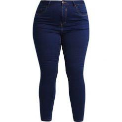 Boyfriendy damskie: Evans Jeans Skinny Fit dark blue denim