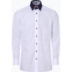 Finshley & Harding - Koszula męska, czarny. Czarne koszule męskie marki Finshley & Harding, m, z podwójnym kołnierzykiem. Za 199,95 zł.