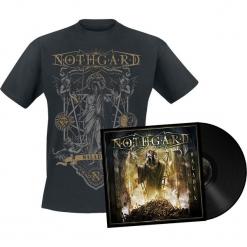 Nothgard Malady X LP + T-Shirt standard. Czarne t-shirty damskie Nothgard, l, z bawełny. Za 121,90 zł.