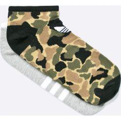 Adidas Originals - Skarpety (2-Pack). Brązowe skarpetki męskie marki adidas Originals, z bawełny. W wyprzedaży za 49,90 zł.