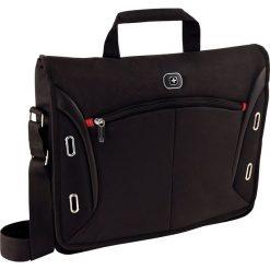 """Torba Wenger do laptopa 15.4"""" Czarna (60665). Czarne torby na laptopa marki Wenger. Za 199,99 zł."""