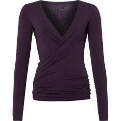 Curare Yogawear Bluzka z długim rękawem dark aubergine. Czarne bluzki longsleeves Curare Yogawear, s, z elastanu, sportowe. Za 199,00 zł.
