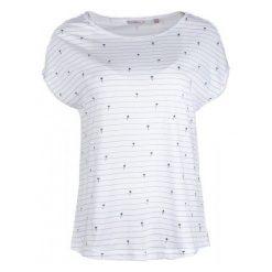 Mustang T-Shirt Damski Aop Xs Biały. Niebieskie t-shirty damskie marki Mustang, z aplikacjami, z bawełny. W wyprzedaży za 89,00 zł.