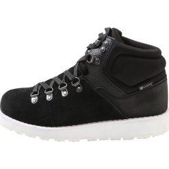 Luhta LIEGE  Buty trekkingowe black. Czarne buty zimowe damskie Luhta, z materiału. W wyprzedaży za 208,45 zł.