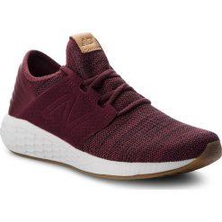 Buty NEW BALANCE - MCRUZKM2  Bordowy. Czerwone buty do biegania męskie New Balance, z materiału. Za 379,99 zł.