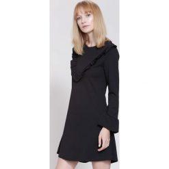 Sukienki: Czarna Sukienka Exciting