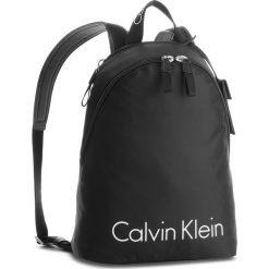 Plecaki damskie: Plecak CALVIN KLEIN BLACK LABEL - City Nylon Backpack K60K603877  001