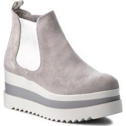 Botki TAMARIS - 1-25409-30 Light Grey 204. Szare buty zimowe damskie marki Tamaris, z materiału. W wyprzedaży za 199,00 zł.