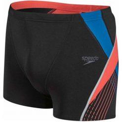 Kąpielówki męskie: Speedo Kąpielówki Fit Splice Aquashort Black/Lava Red/Danube 34