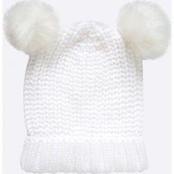 Answear - Czapka Ur Your Only Limit. Szare czapki zimowe damskie marki ANSWEAR, na zimę, z dzianiny. W wyprzedaży za 24,90 zł.
