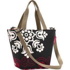 Shopper bag damskie: Torba w kolorze czarno-czerwonym na zakupy – 31 x 21 x 16 cm