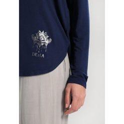 Deha Bluzka z długim rękawem dark blue. Niebieskie topy sportowe damskie Deha, xl, z elastanu, z długim rękawem. Za 249,00 zł.
