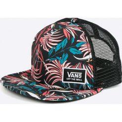 Vans - Czapka. Szare czapki z daszkiem damskie marki Vans, z bawełny. W wyprzedaży za 89,90 zł.