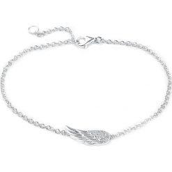 Flügel Bransoletka srebrny. Szare bransoletki damskie na nogę Flügel, srebrne. Za 79,90 zł.