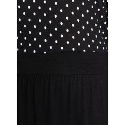 Sukienki hiszpanki: Vero Moda VMNIA 3/4 DRESS Sukienka z dżerseju black/snow white