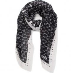 Chusta KARL LAGERFELD - 86KW3307 Black. Czarne chusty damskie KARL LAGERFELD, z jedwabiu. Za 509,00 zł.