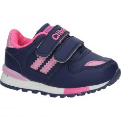 Granatowe buty sportowe na rzepy Casu F-627. Szare buciki niemowlęce Casu, na rzepy. Za 59,99 zł.