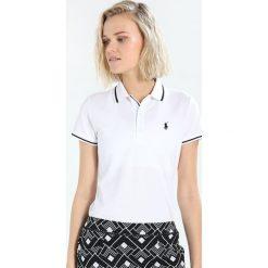 Polo Ralph Lauren Golf PERFORMANCE  Koszulka polo pure white. Białe bluzki sportowe damskie Polo Ralph Lauren Golf, l, z bawełny. Za 419,00 zł.