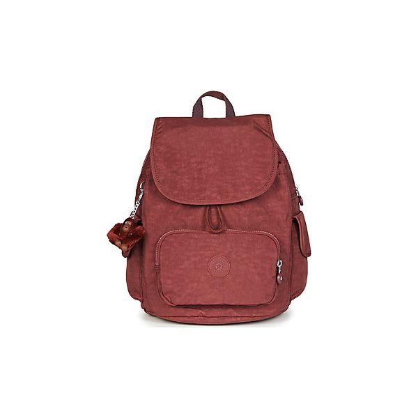 30f2980abc4c3 Plecaki Kipling CITY PACK S - Czerwone plecaki damskie Kipling