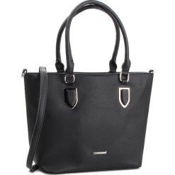 Torebka MONNARI - BAG0750-020 Black. Czarne torebki klasyczne damskie marki Monnari, ze skóry ekologicznej. W wyprzedaży za 199,00 zł.