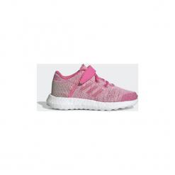 Buty do biegania Dziecko adidas  Buty Pureboost Go. Czerwone buty sportowe dziewczęce Adidas. Za 329,00 zł.