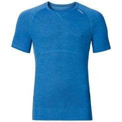 Odlo Koszulka s/s crew neck REVOLUTION LIGHT rozmiar M niebieska. Niebieskie koszulki sportowe męskie marki Odlo, l. Za 219,95 zł.