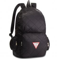 Plecak GUESS - HM6526 NYL84 BLA. Czarne plecaki męskie marki Guess, z aplikacjami, z materiału, sportowe. Za 279,00 zł.