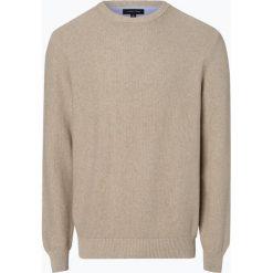 Andrew James - Sweter męski, beżowy. Brązowe swetry klasyczne męskie Andrew James, l, z bawełny. Za 179,95 zł.