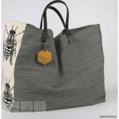 Shopper bag damskie: Torba: Pszczoła maxi