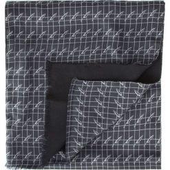 Szal męski 84-7M-X01-X01. Czarne szaliki męskie marki Wittchen, z jedwabiu. Za 239,00 zł.