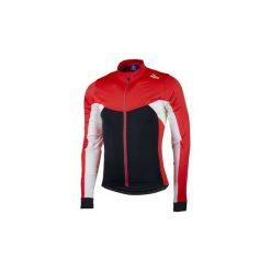 Bluza rowerowa męska Rogelli Recco 2.0 XL. Czarne bluzy męskie rozpinane marki Sensor, m, z nadrukiem, z długim rękawem, długie. Za 139,99 zł.