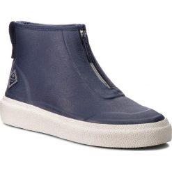 Kalosze GANT - Stormhaven 17599855 Marine G69. Niebieskie buty zimowe damskie GANT, z materiału. Za 399,90 zł.