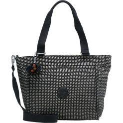 Kipling NEW SHOPPER MEDIUM Torba na zakupy black/white. Czarne torebki klasyczne damskie Kipling. Za 299,00 zł.